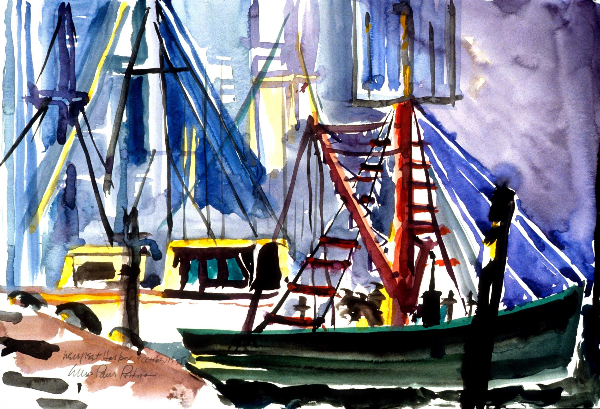 Wellfleet Harbor Cape Cod