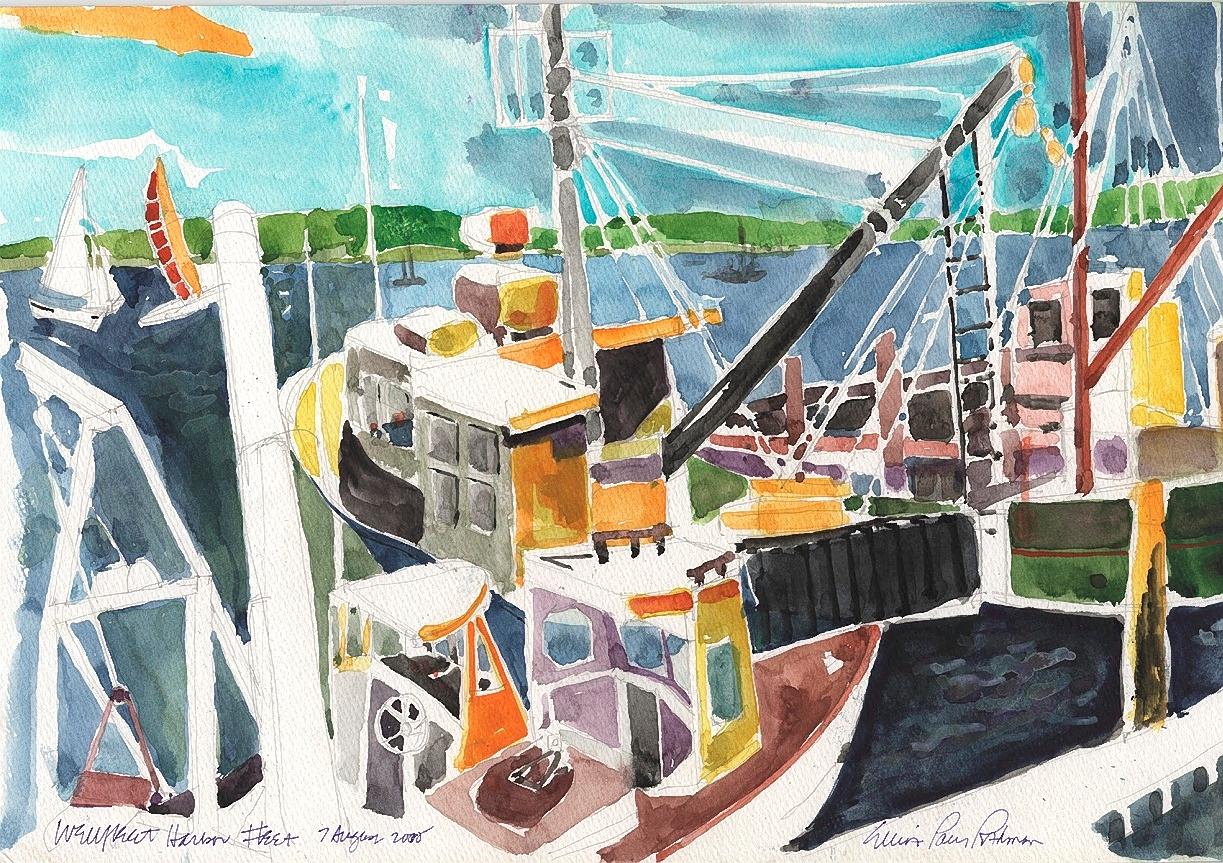 Wellfleet Harbor Fleet