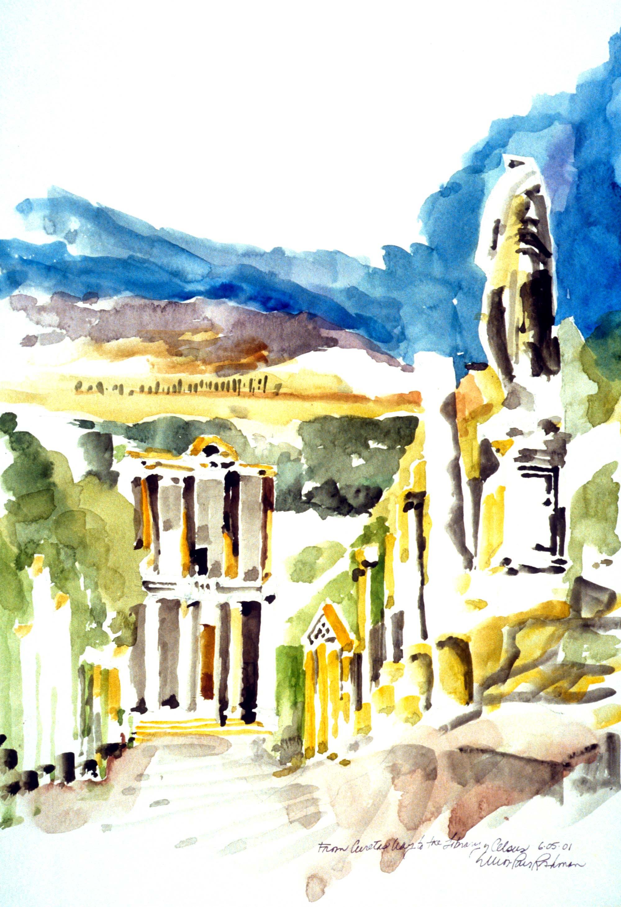 From Curetas Way to the Library of Celsus