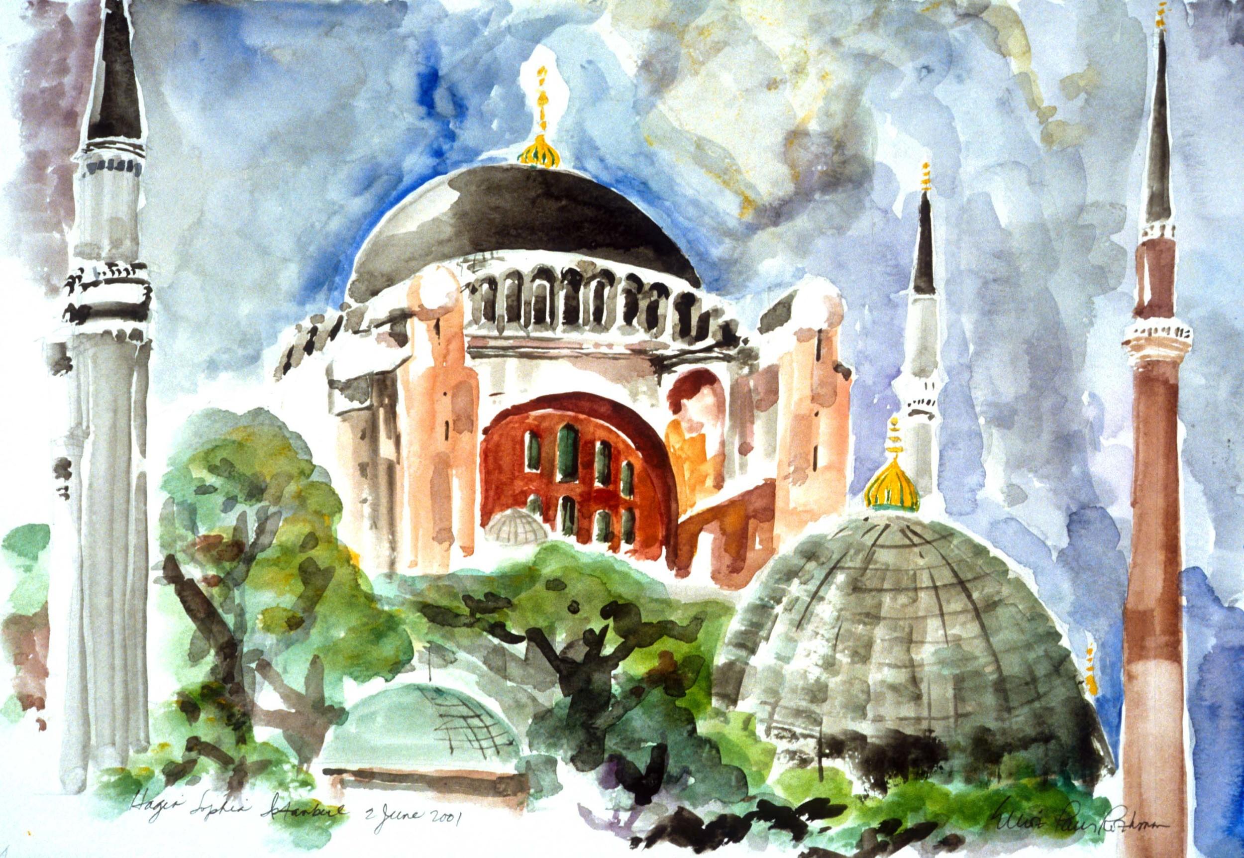 Hagia Sophia Exterior Istanbul