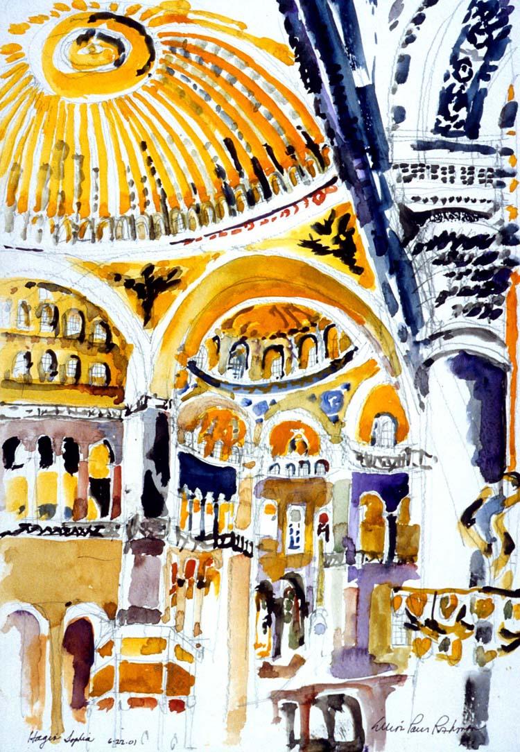 Hagia Sophia Interior Istanbul