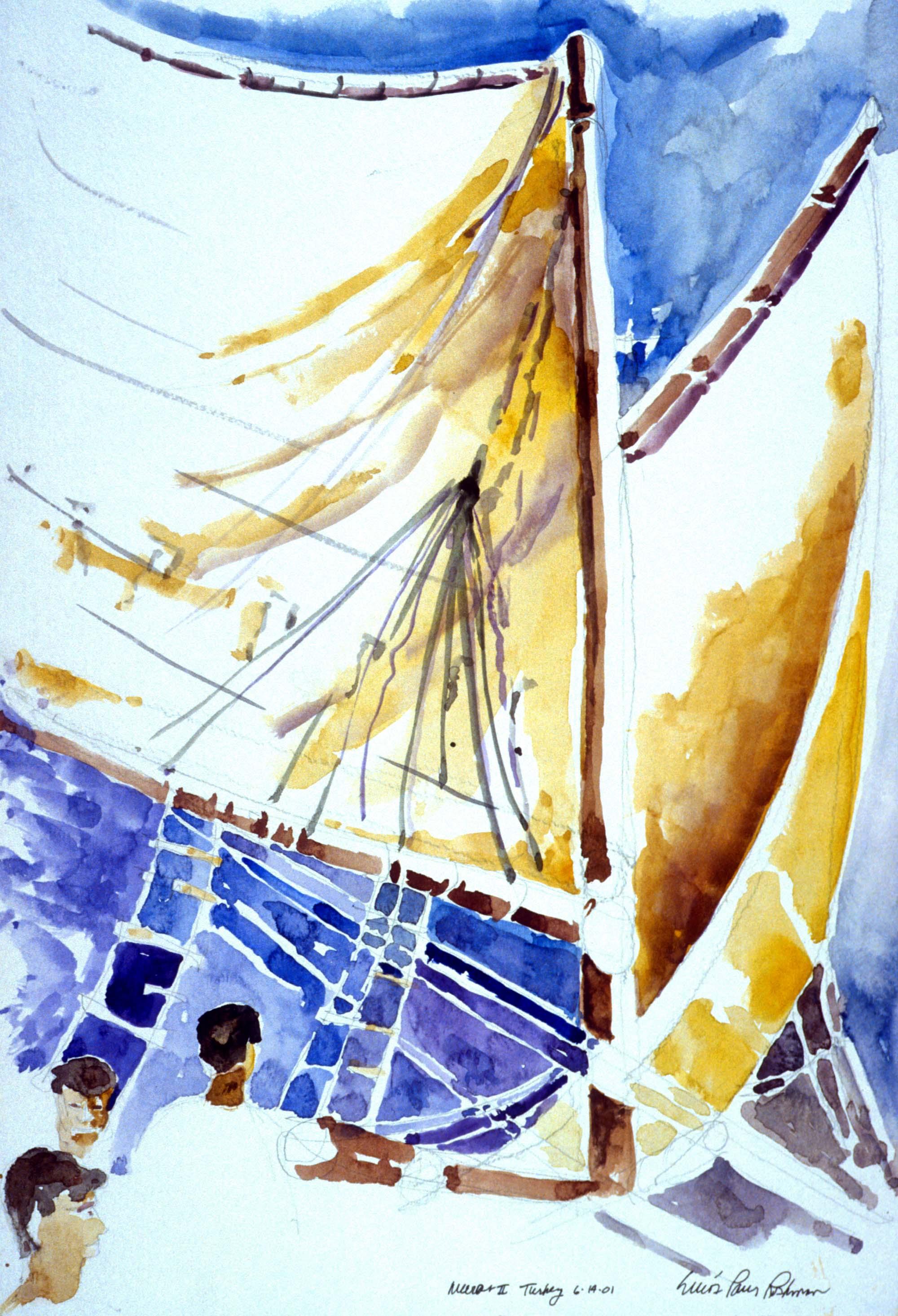 Murat II Under Sail