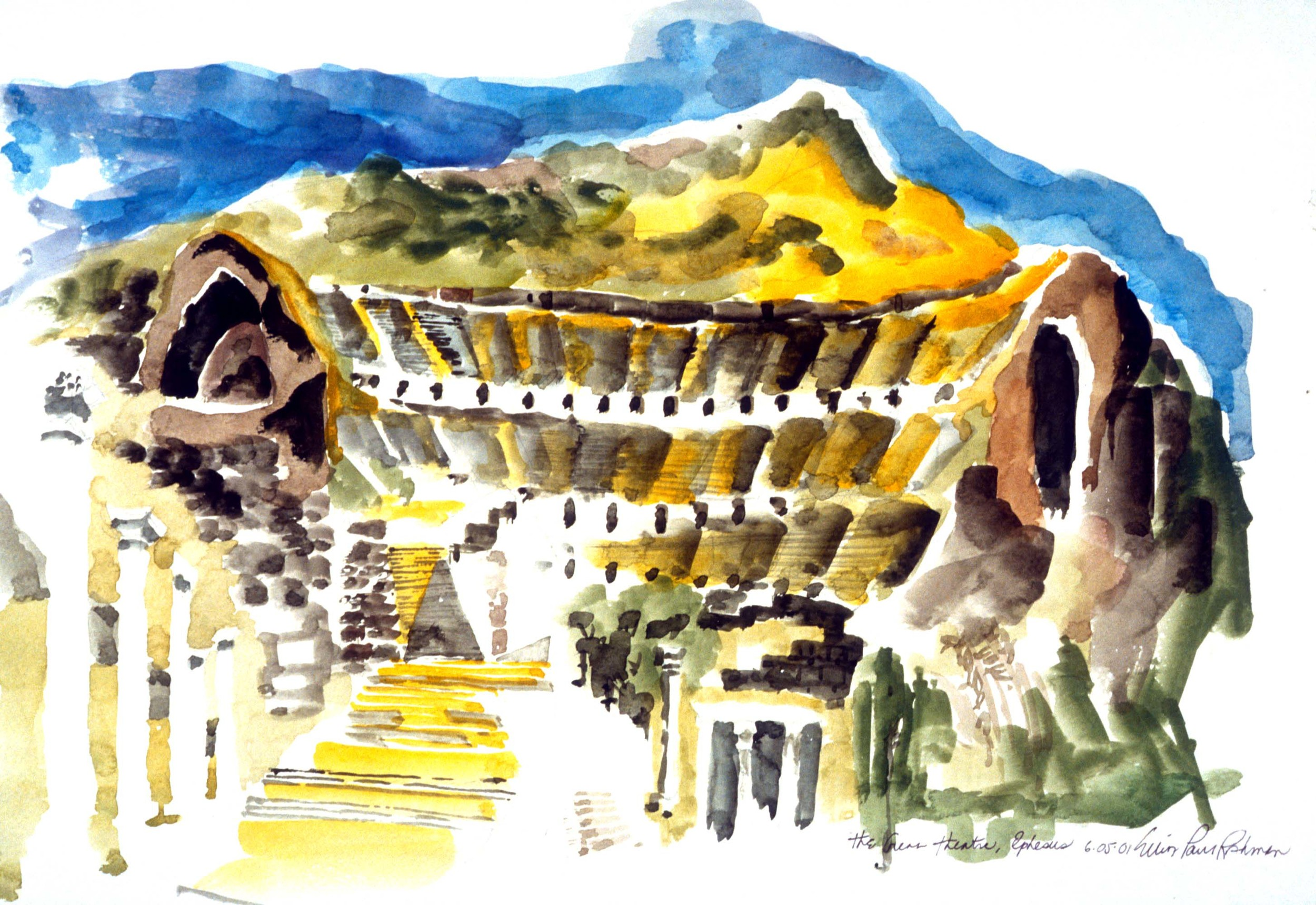 The Great Amphitheatre at Ephesus