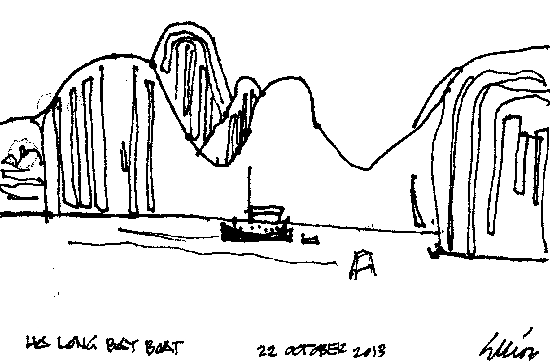 ha long bay boat 10.22.13