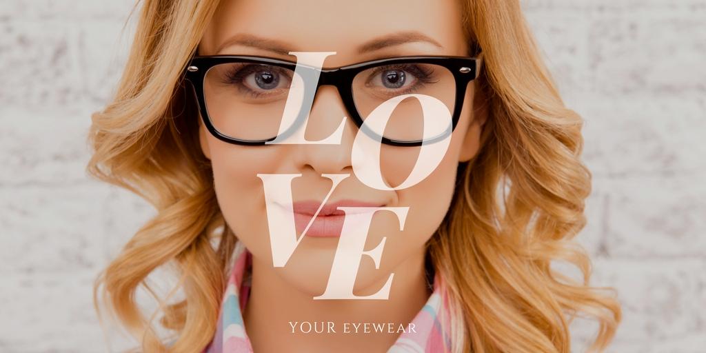 Photo of lady wearing sparepair eyewear - love your eyewear