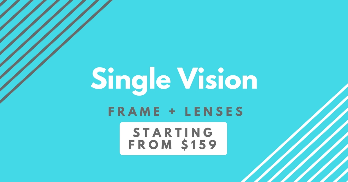 sparepair eyewear - single vision banner