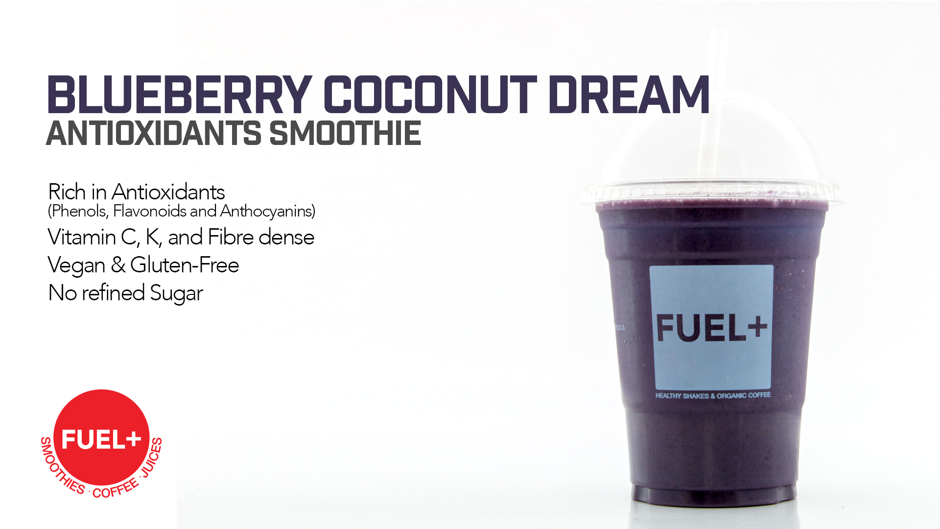 Blueberry Coconut Dream Smoothie