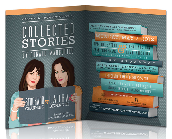 COLLECTED STORIES invitation