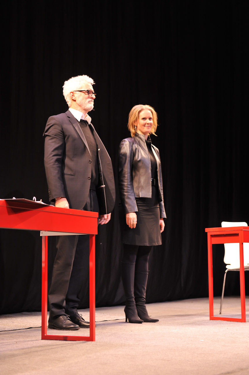 John Slattery & Cynthia Nixon