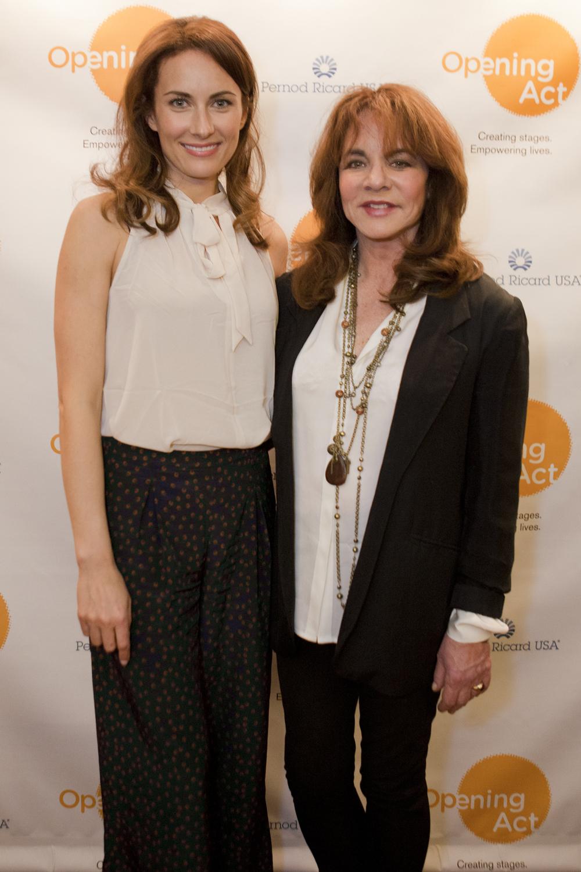 Laura Benanti & Stockard Channing