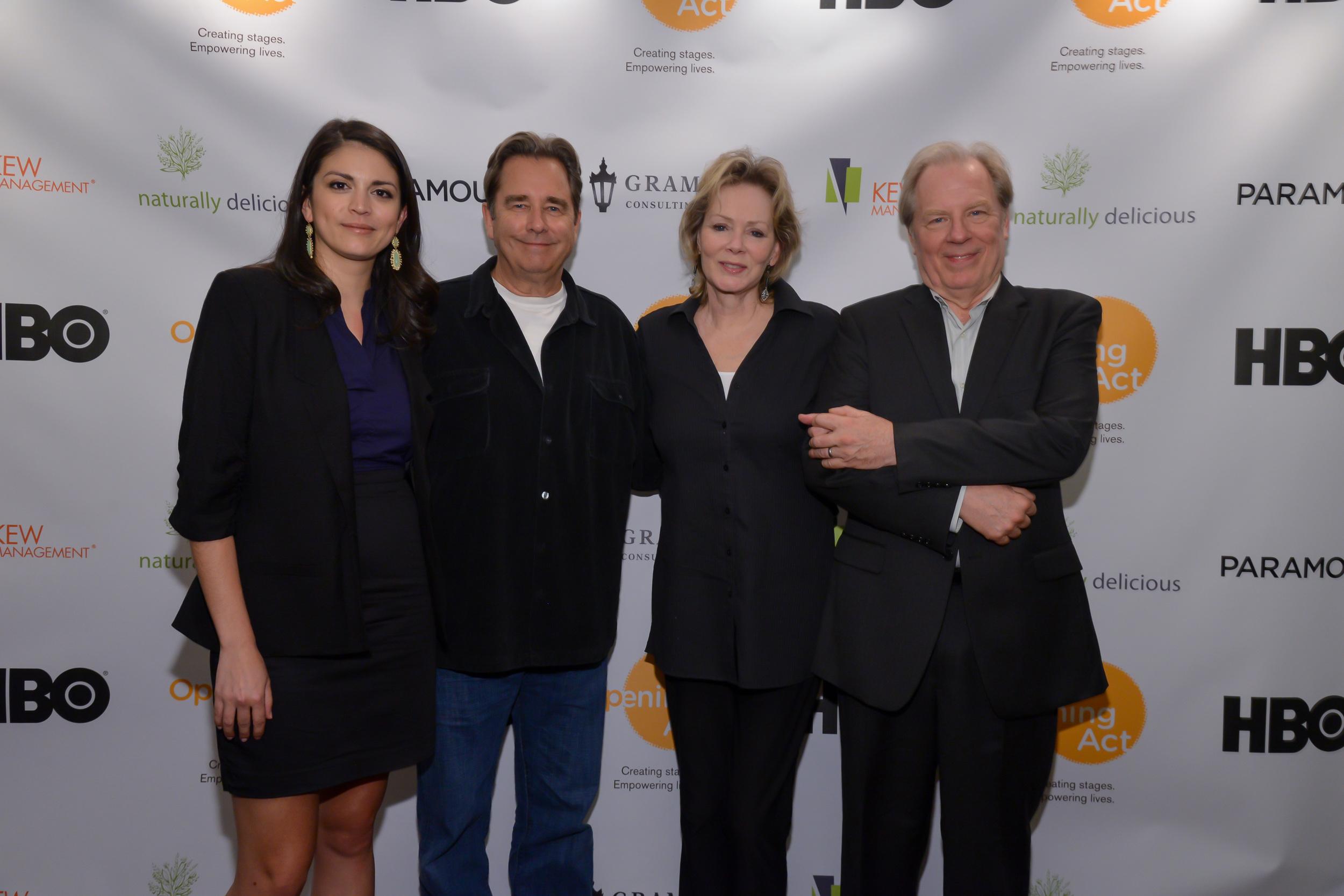Cecily Strong, Beau Bridges, Jean Smart & Michael McKean