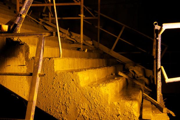Construction de la ligne de métro Marmaray.Photo: Erinç Salor