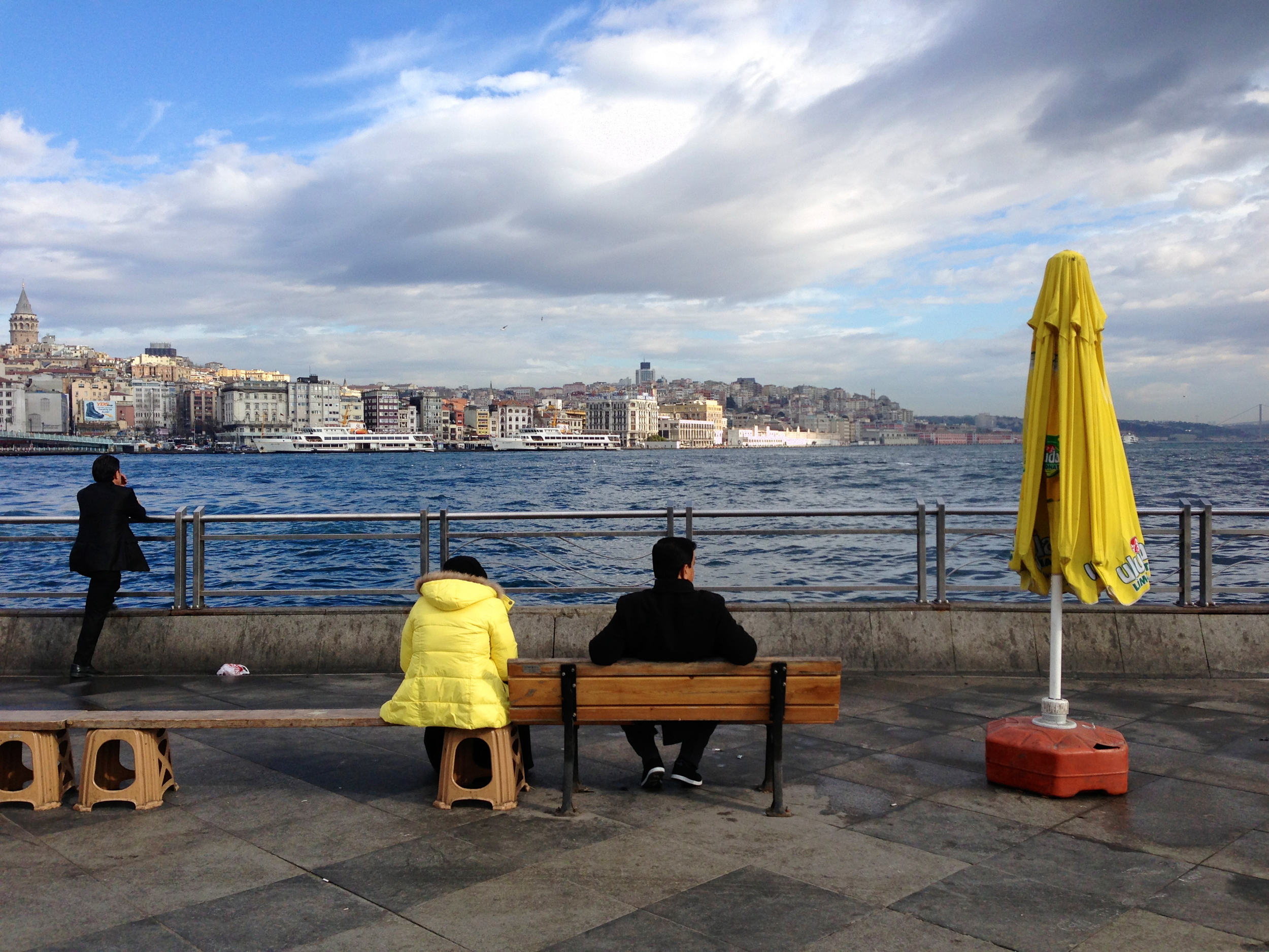 Eminönü, Février 2013 (photo : Canan Marasligil)