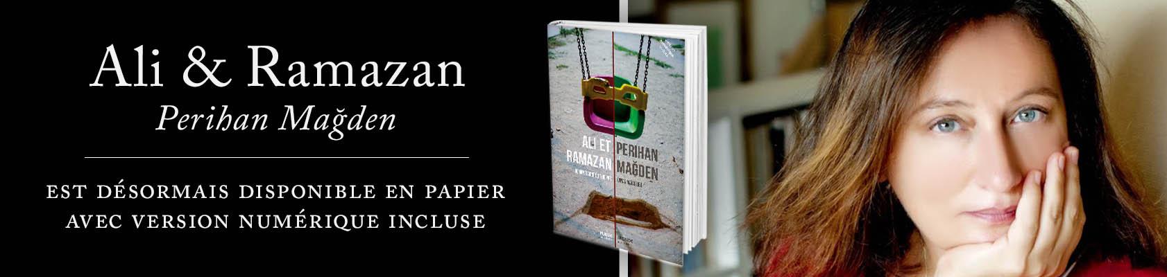 Ali et Ramazan , le roman de Perihan Magden, est enfin disponible en français.  Photo de l'auteur ©Muhsin Akgün