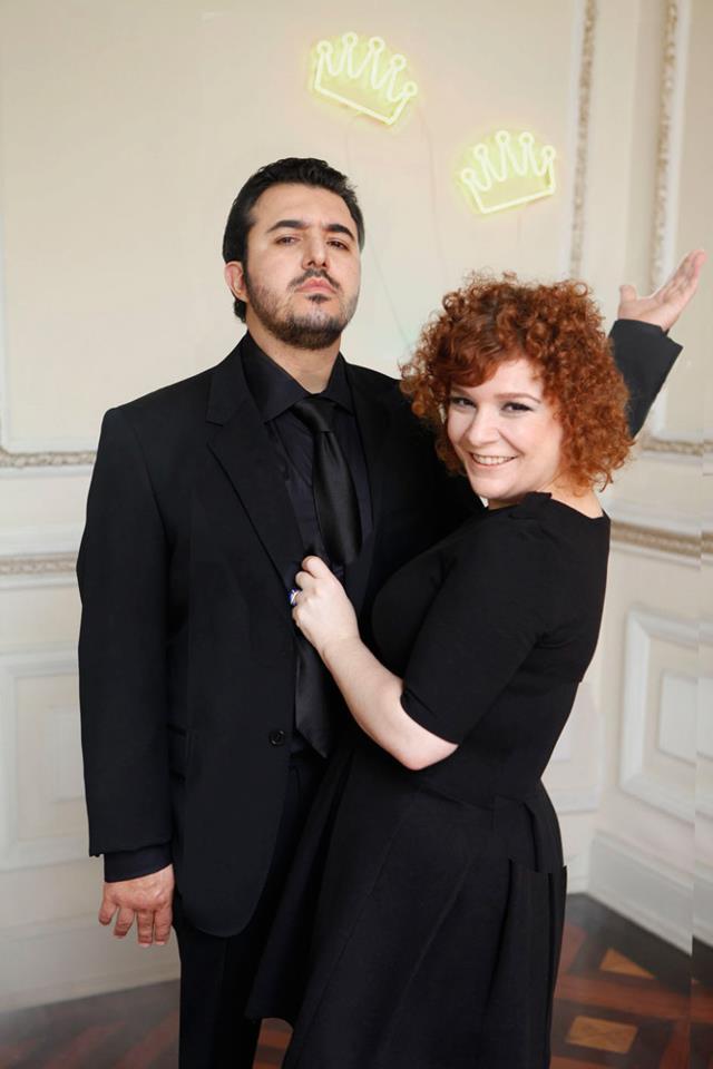 Os chefs e casal Adriana e Vitor