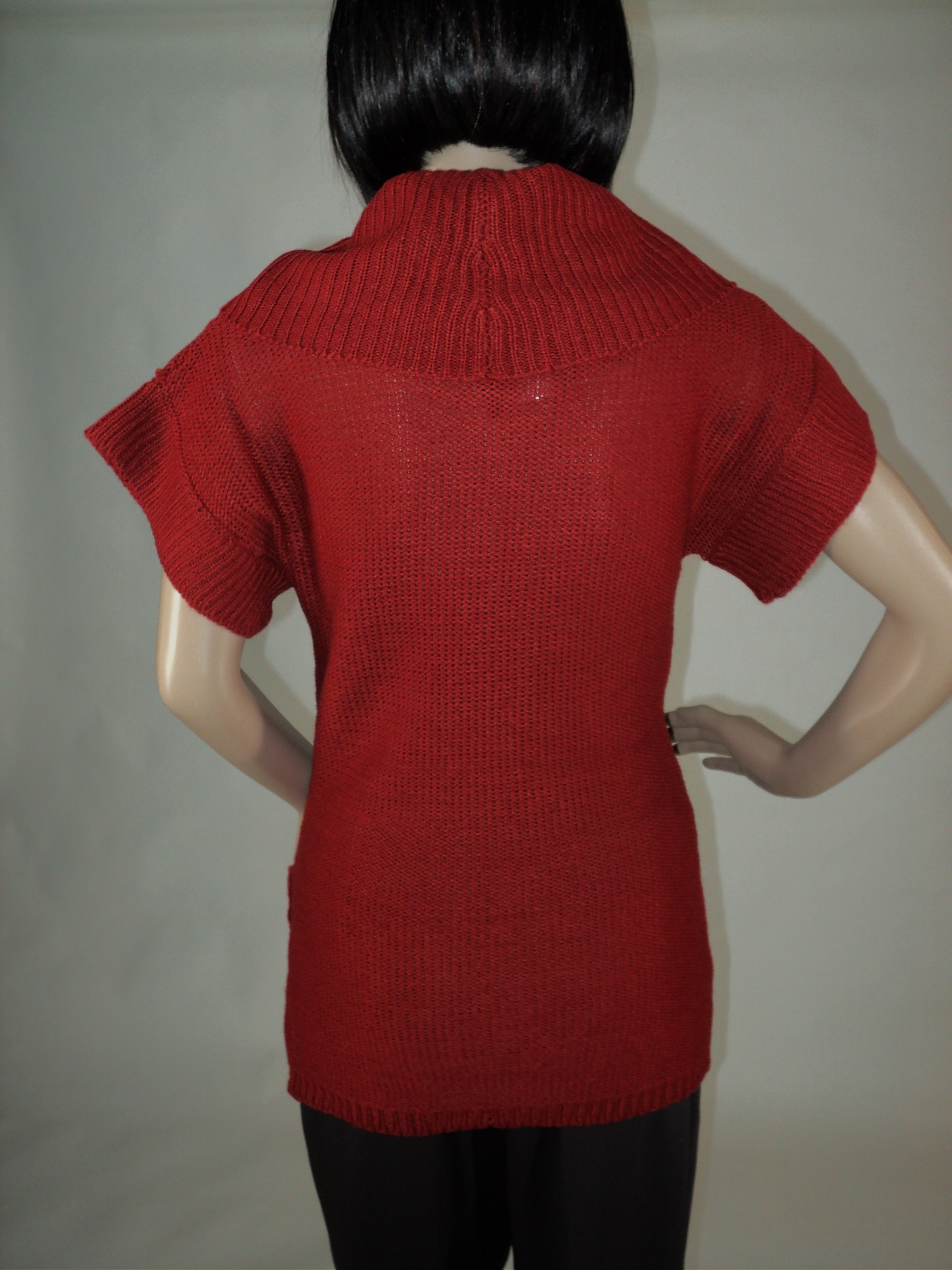 Rust Short Sleeve Sweater_Back2.jpg