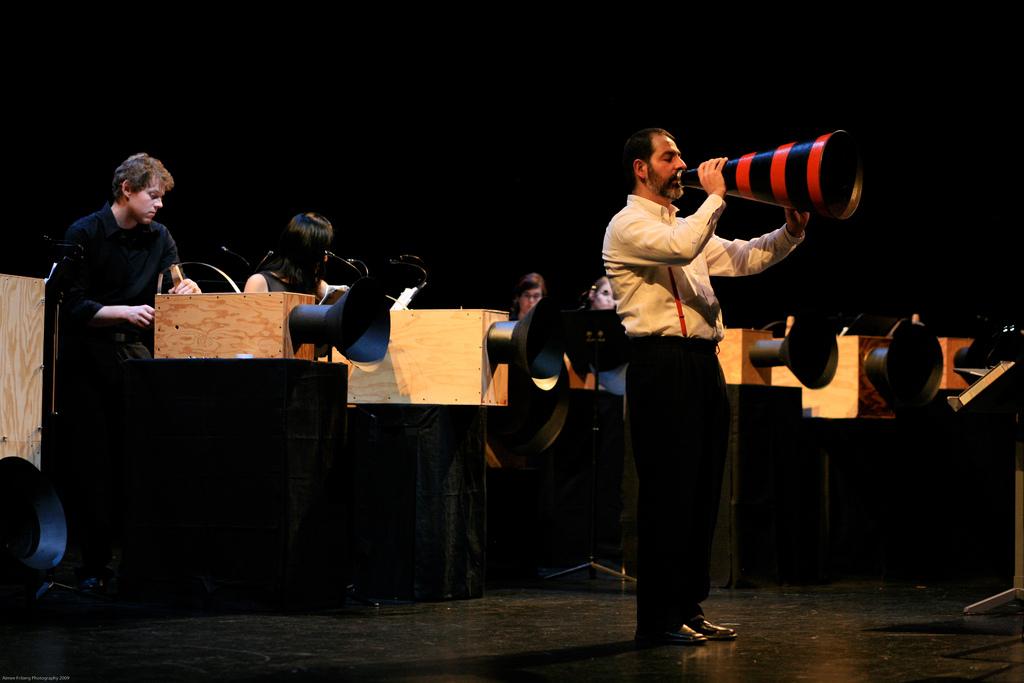 Magik*Magik performs at the 2009  PERFORMA FESTIVAL.