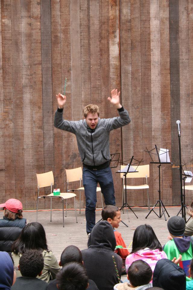 Matthias showcases LOUD dyamics!
