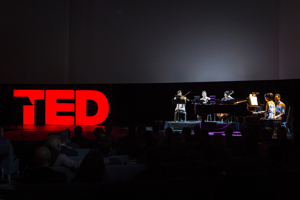 Magik*Magik composes and performs original music for the 2015 TED conference in Vancouver. We were invited by Pop Up Magazine, a live storytelling experience from San Francisco.