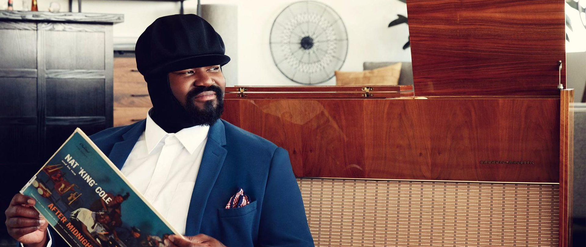 SFJAZZ Presents Gregory Porter with Magik*Magik Orchestra, conducted by Vince Mendoza live in concert at Davies Symphony Hall on August 18th, 2018.