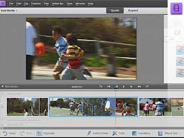 Adobe Premiere Elements 11 editing interface