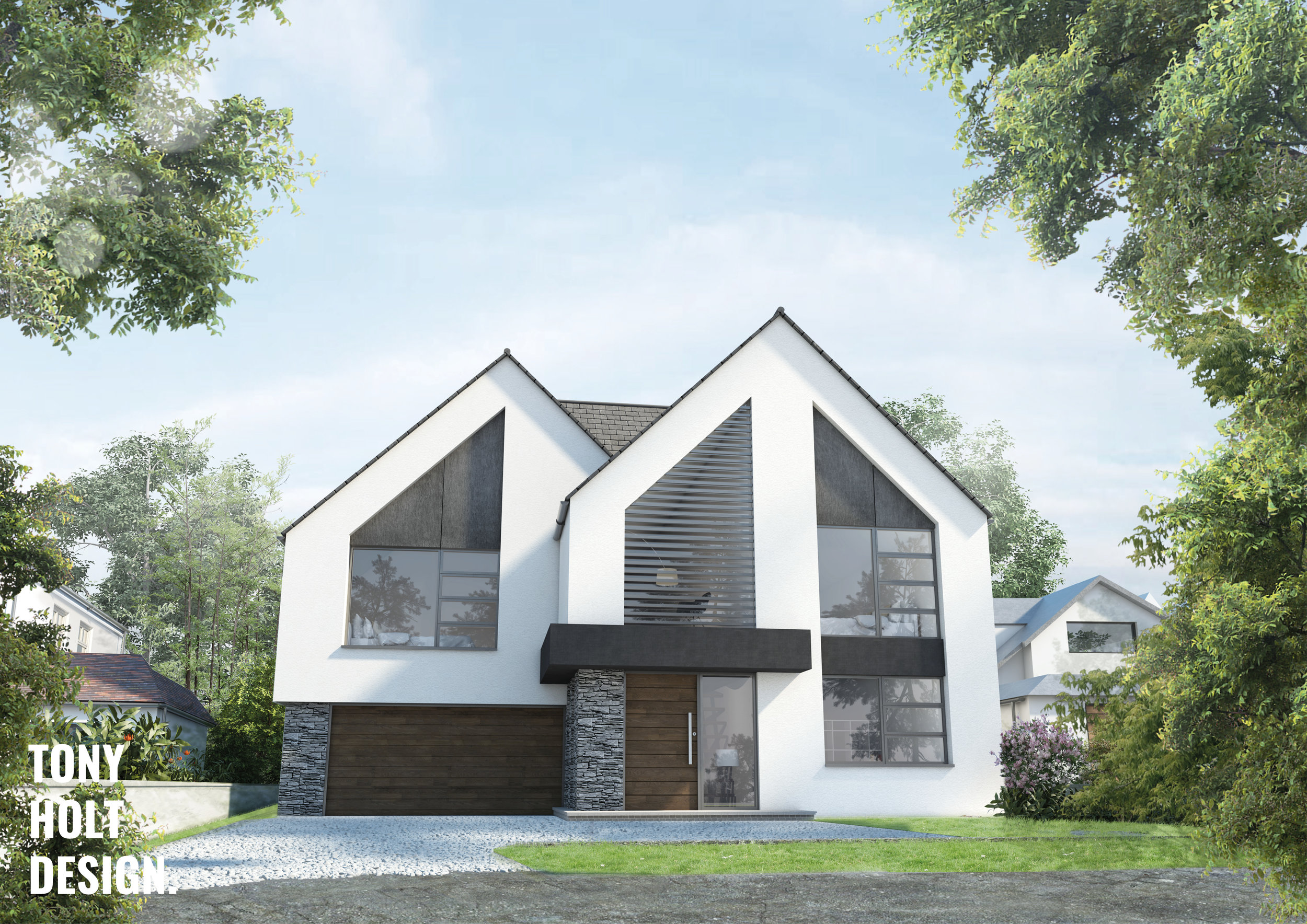 Tony Holt Design New Build Heathfield Bromley