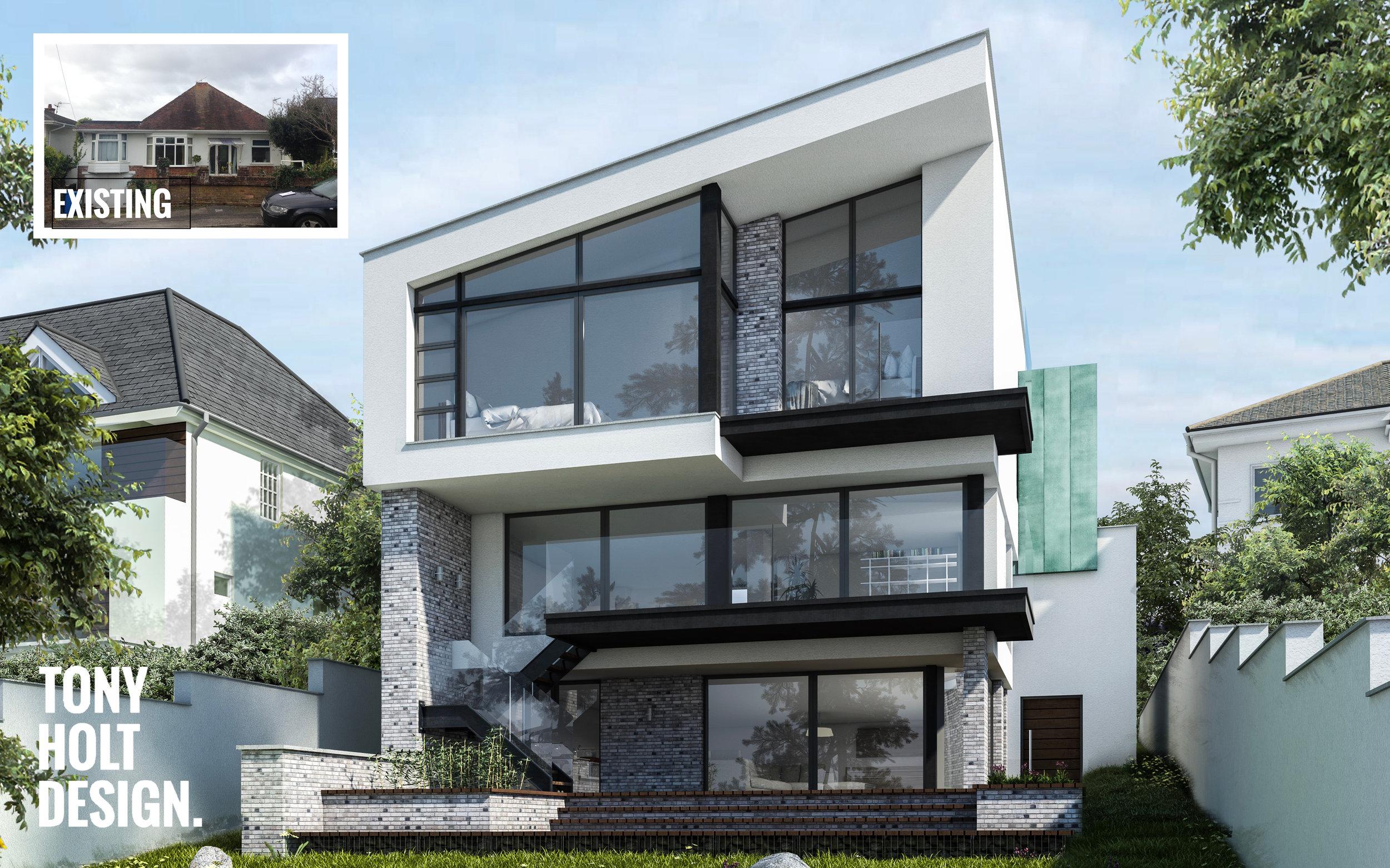 Tony Holt Design_Excelsior Road_Self Build_Remodel_CGI_Rear_Logo.jpg