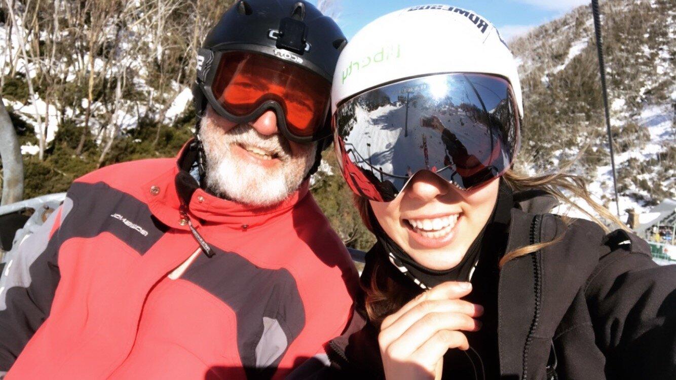 Me and Dad at Hotham .JPG