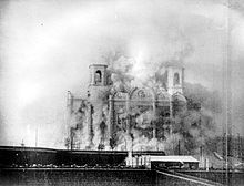 Destruction of the Cathedral of Christ the Saviour in Moscow, 1931