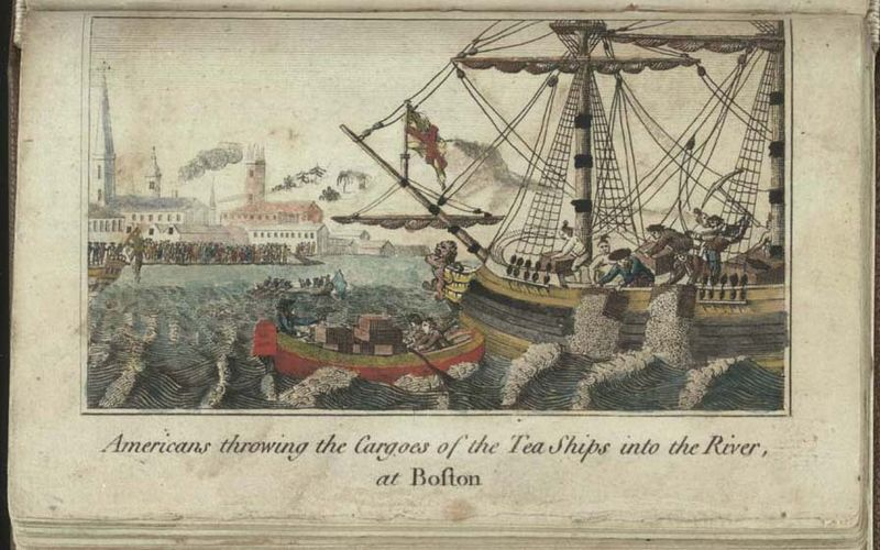 Boston Tea Party by W.D. Cooper