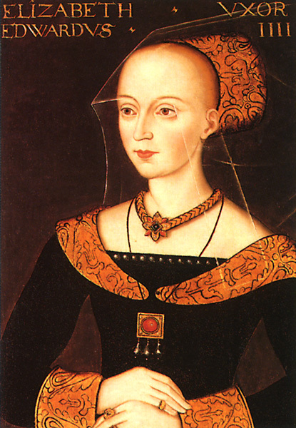 Elizabeth Woodville, Edward IV's very powerful Queen