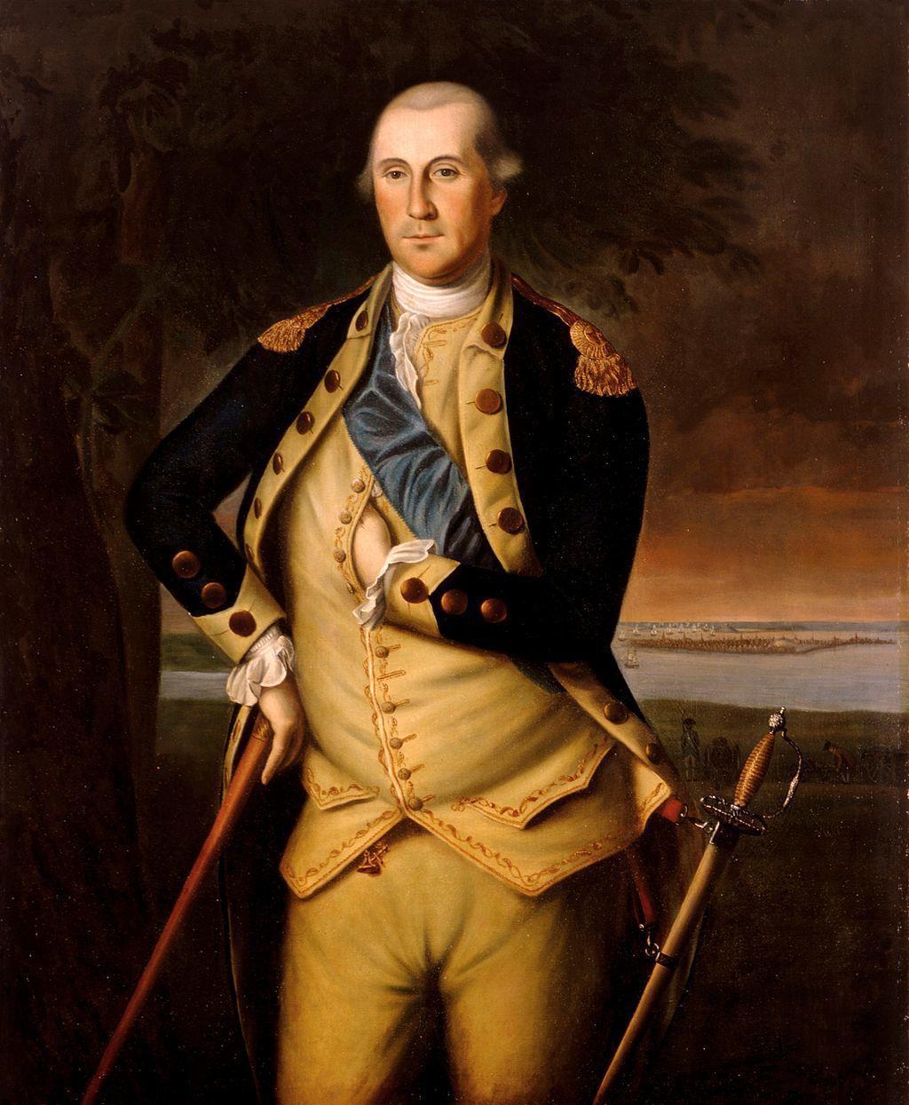 Portrait of George Washington, 1776