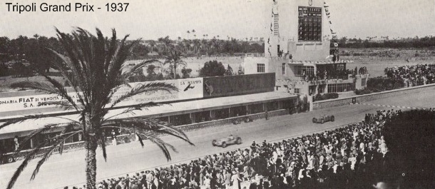 An photo of the 1937 Tripoli Grand  Prix