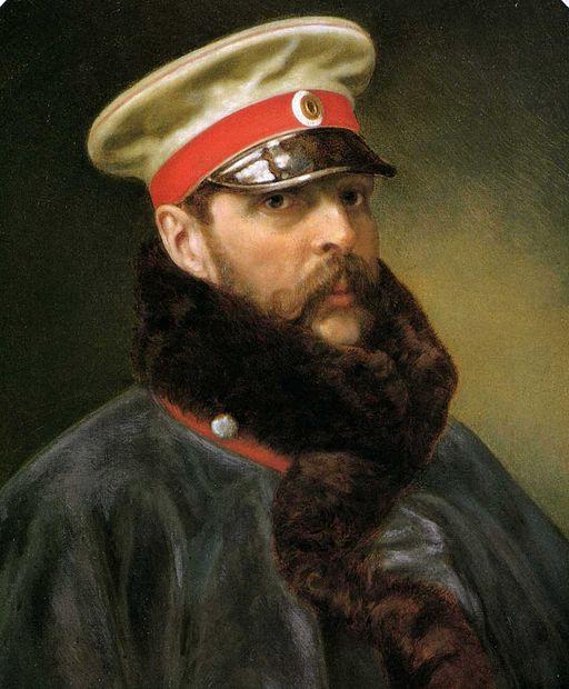Tsar Alexander II, circa 1865.