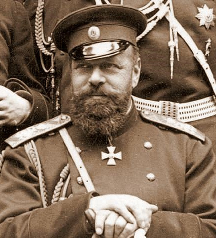 Tsar Alexander III of Russia in the 1880s.