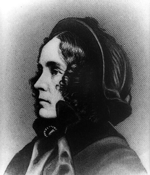 A portrait of Jane Pierce.