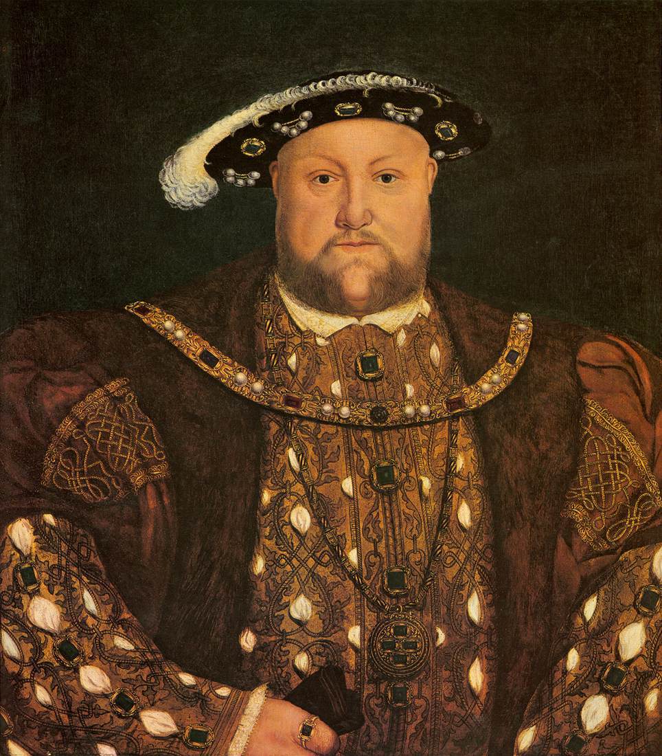 King Henry VIII of England by Lucas Horenbout (c. 1526)