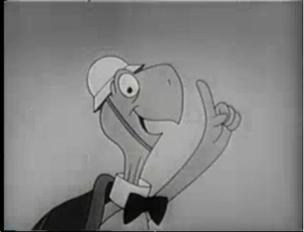 A still of Bert the Turtle.