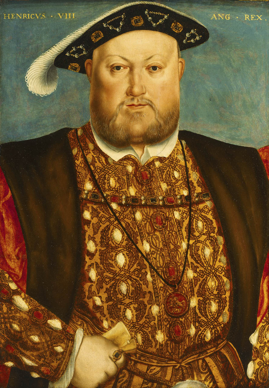 A portrait of King Henry VIII of England from the National Maritime Museum, London.