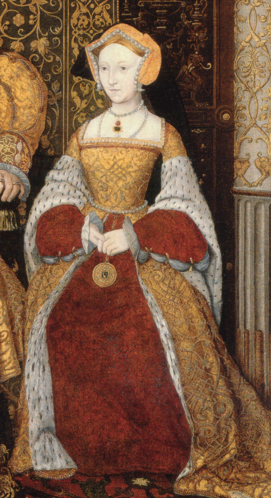Number 3. Jane Seymour. Died 1537.