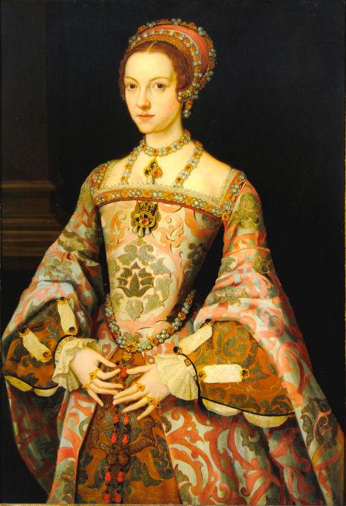 Number 6. Catherine Parr. Outlived King Henry VIII.