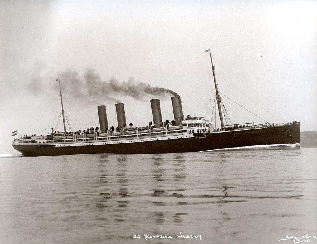 Kronprinz Wilhelm   as passenger liner