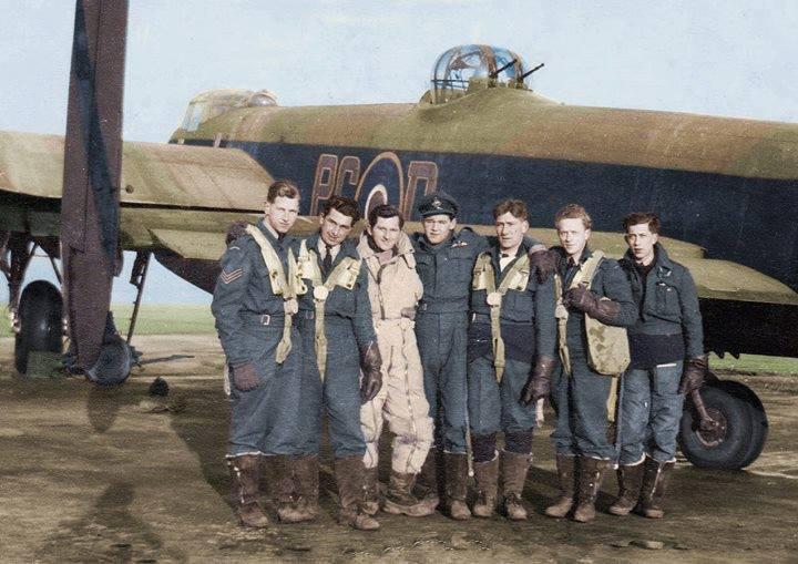 Wilf DeMarco's crew (619 Squadron).