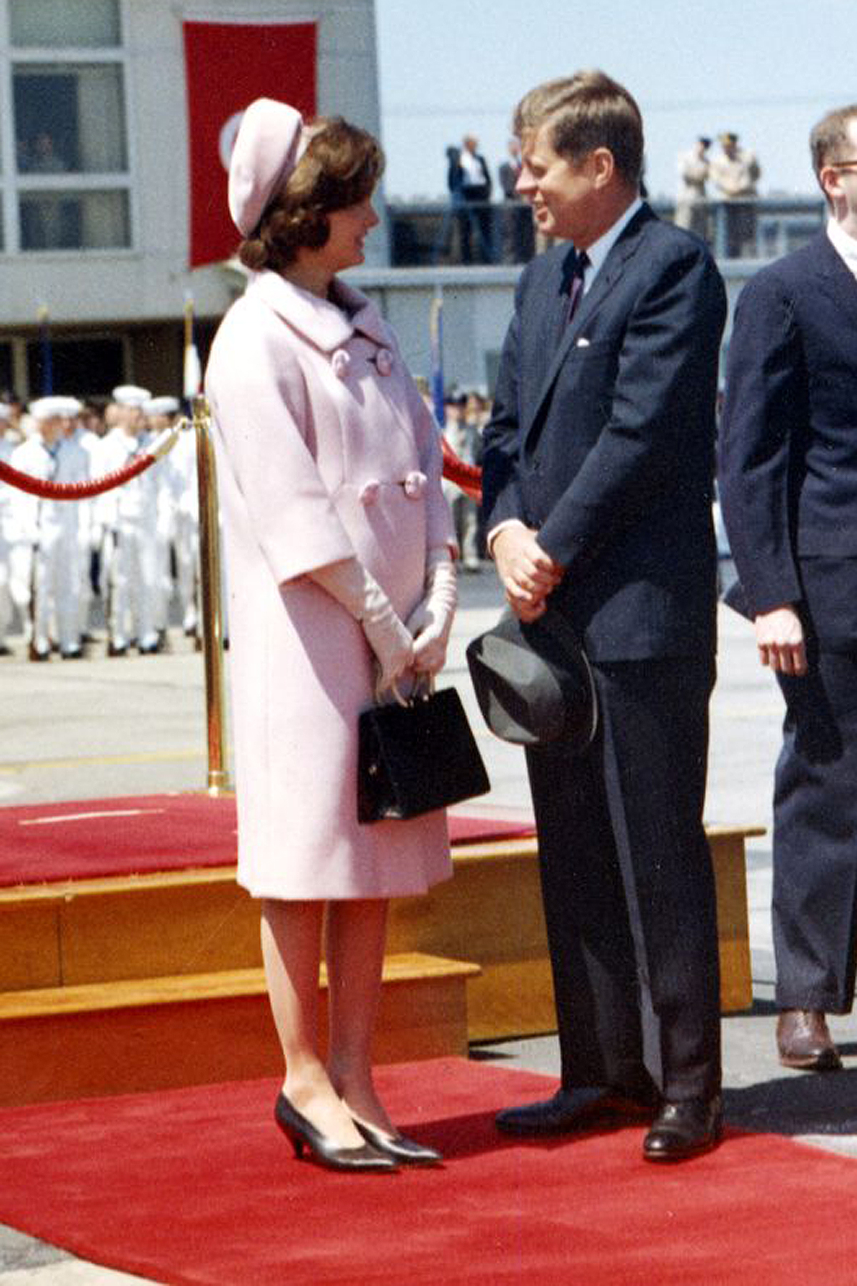 Jackie and JFK in May 1961.