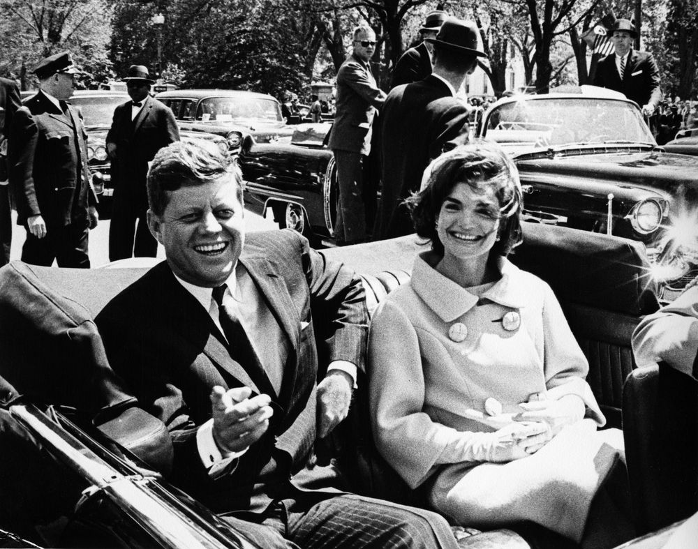 Another photo of JFK and Jackie from May 1961.