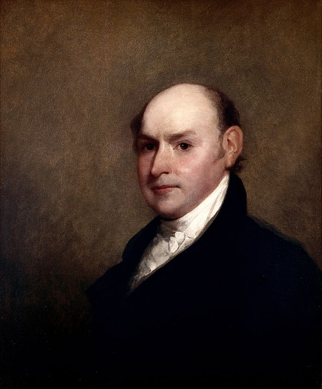 72   544x376        John Quincy Adams by Gilbert Stuart, 1818 (The White House Historical Association) .