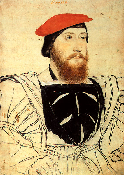 An image that is said to be of Thomas Boleyn.