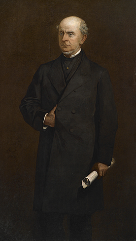 Charles Francis Adams by William Morris Hunt. 1867.