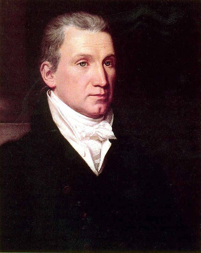James Monroe as painted by William James Hubbard in the 1830s.