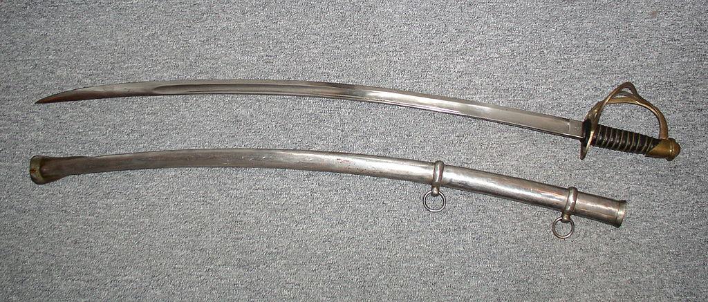 A US Cavalry Sabre, 1860s.
